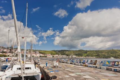 Yachthafen von Horta auf Faial