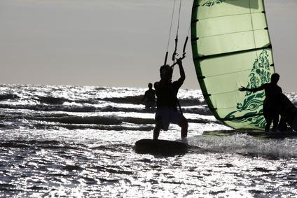 Kitesurfing auf den Azoren